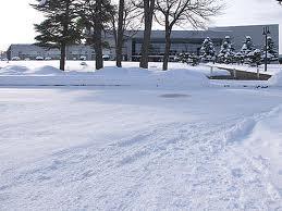 永山市民交流センター 冬